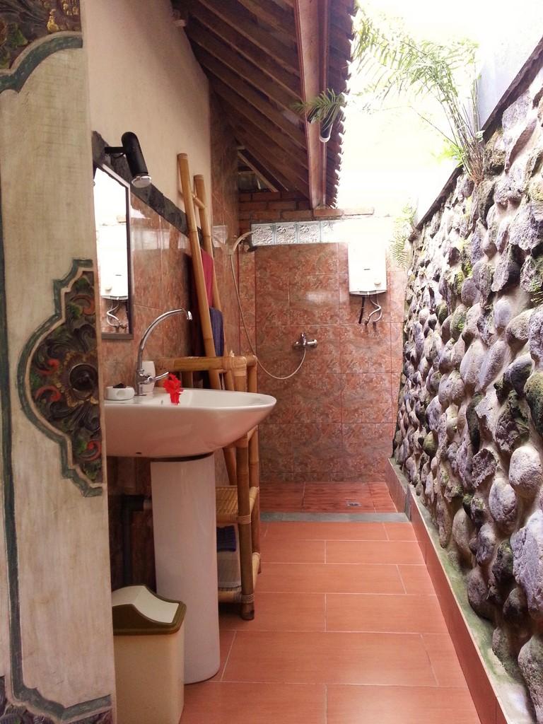 Salle De Bain Bungalow ~ meuble salle bain bois exotique meuble en bois et mtal with meuble