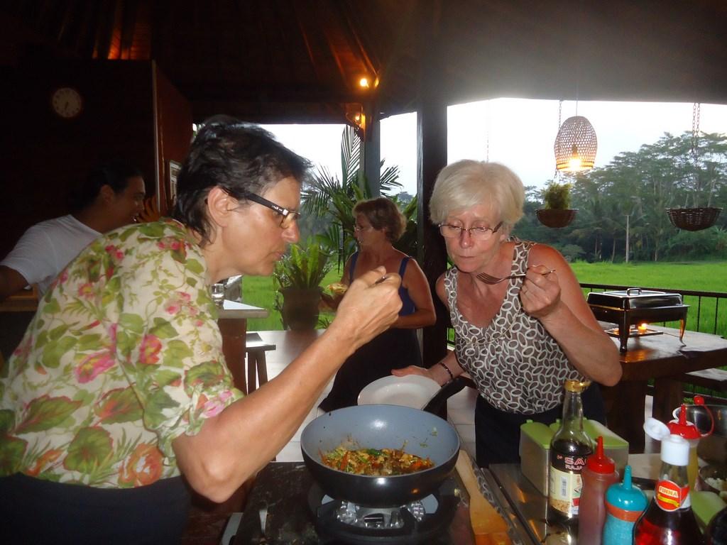 cours de cuisine en français à bali - ubud - pariliana - Cours De Cuisine En Couple
